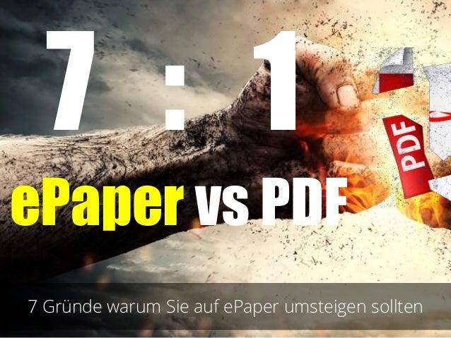 ePaper vs PDF!