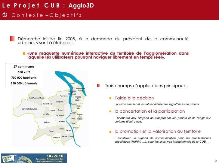 <ul><li>Démarche initiée fin 2008, à la demande du président de la communauté urbaine, visant à élaborer :  </li></ul><ul>...