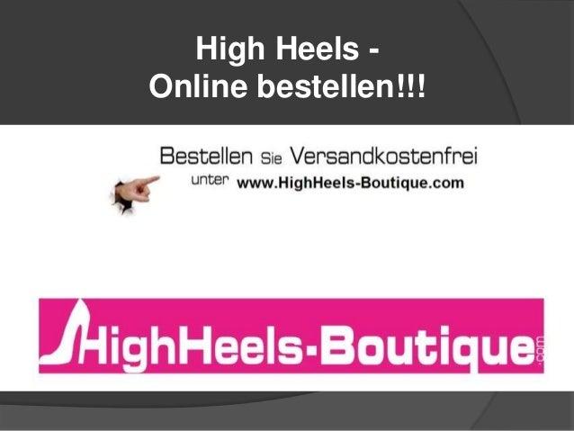 High Heels Online bestellen!!!
