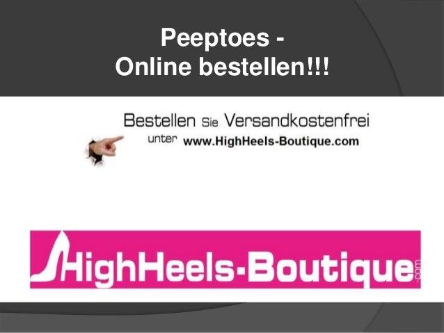 Peeptoes Online bestellen!!!