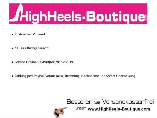 Die schönsten Peeptoes für den Frühling findest du auf HighHeels-Boutique.com!
