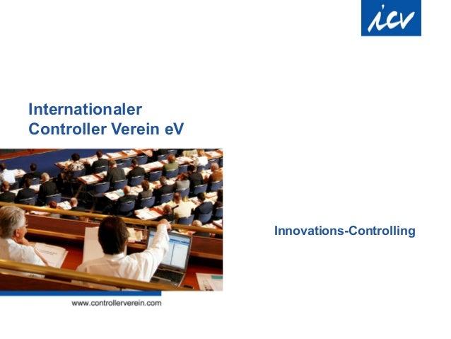 Internationaler Controller Verein eV Innovations-Controlling