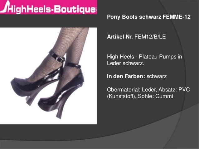 � High Pony Heels mega � ballet Boots R5LqAj34