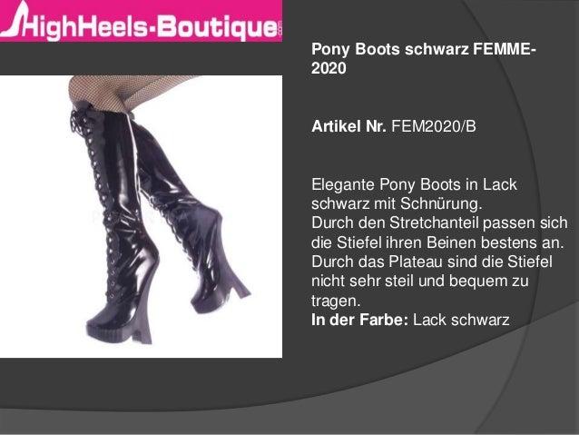 73f46b905f97f Pony Boots – Mega High Heels – Ballet Boots – Ballet Overkneestiefel