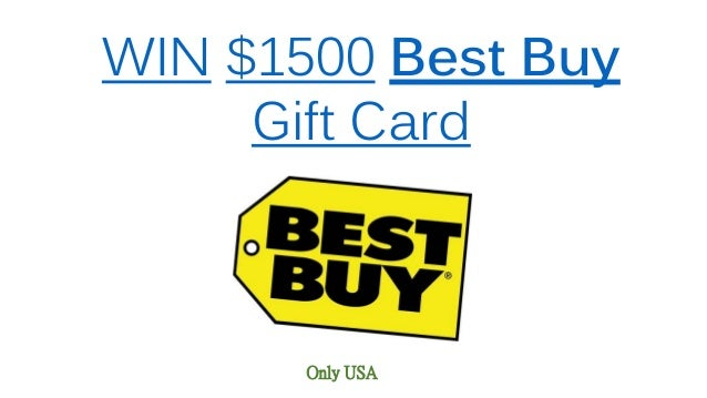 Win 1500 best buy gift card only usa win 1500 best buy gift card only usa negle Image collections