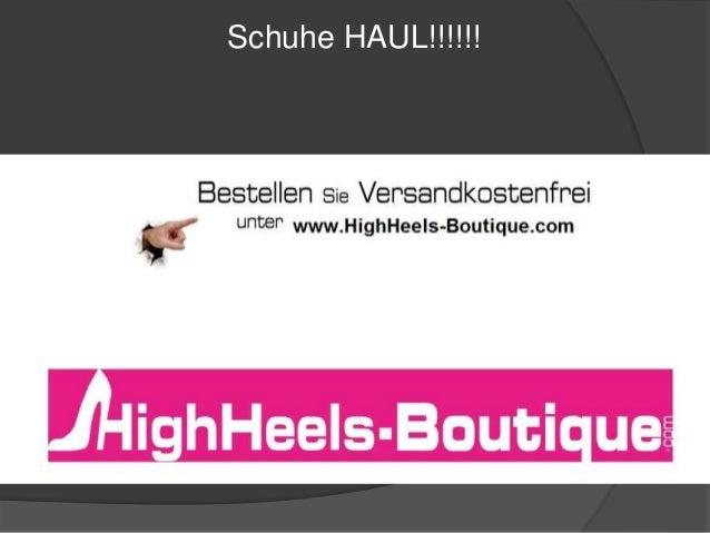 Schuhe HAUL!!!!!!