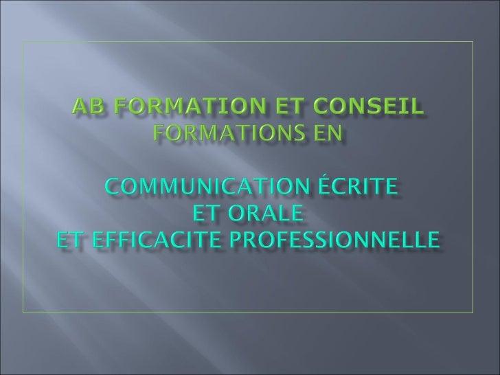 La re actualisation des  fondamentaux de la langue             françaiseLes techniques rédactionnelles   Les écrits profes...