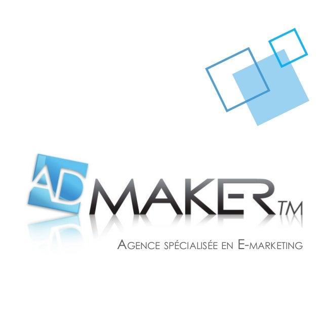 Agence spécialisée en E-marketing