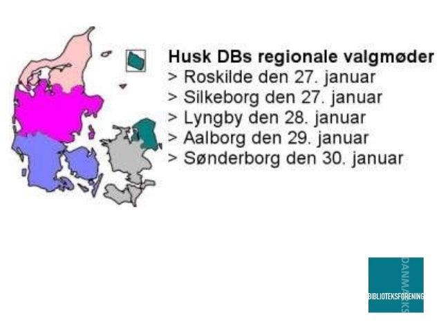 Program: Kl. 17.00 Velkomst Kl. 17.05 Valg til Danmarks Biblioteksforenings repræsentantskab Kl. 18.00 Spisning Kl. 18.45 ...