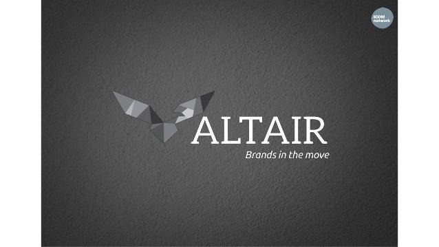 Altaïr, une vision à 360° Altaïr a été fondée par Nabil Boutaleb en 1995 pour répondre aux besoins de ses clients tant au ...