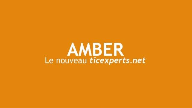 Amber, le nouveau ticexperts.net