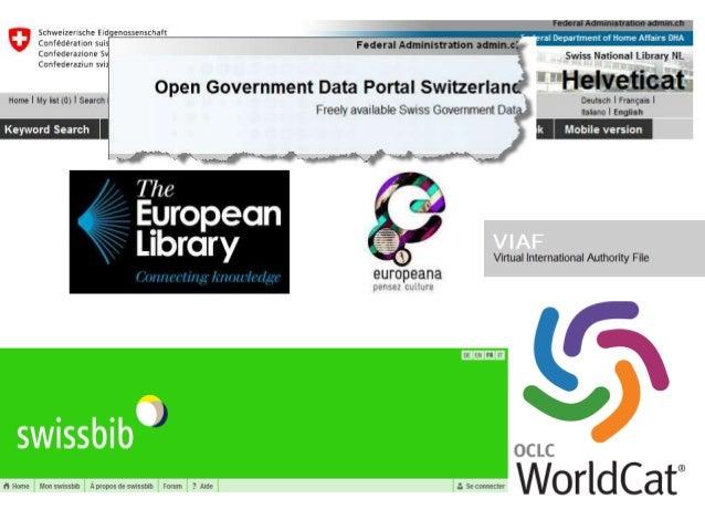 5 OKCon 2013   Open Data Département fédéral de l'intérieur DFI Office fédéral de la culture OFC Bibliothèque nationale su...