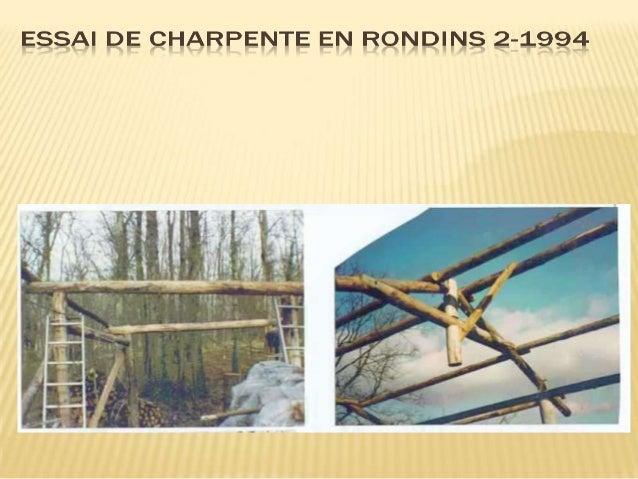 PROJET MAISON FORESTIERE – CHANTIER D'INSERTION 1993