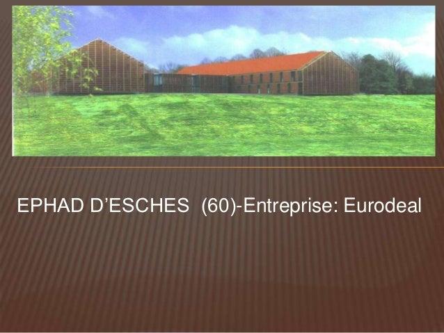MUR OSSATURE EHPAD ESCHES 2004 -1-