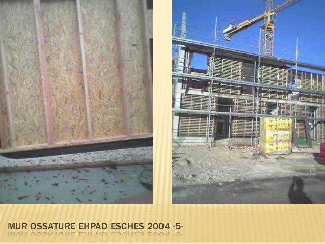Quelques uns des plans d'exécutions desmurs ossature bois que j'ai dessiné surMinicad 4 ( 2004 )