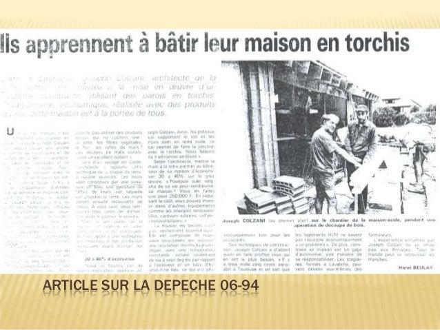 ARTICLE SUR LA DEPECHE 06-94
