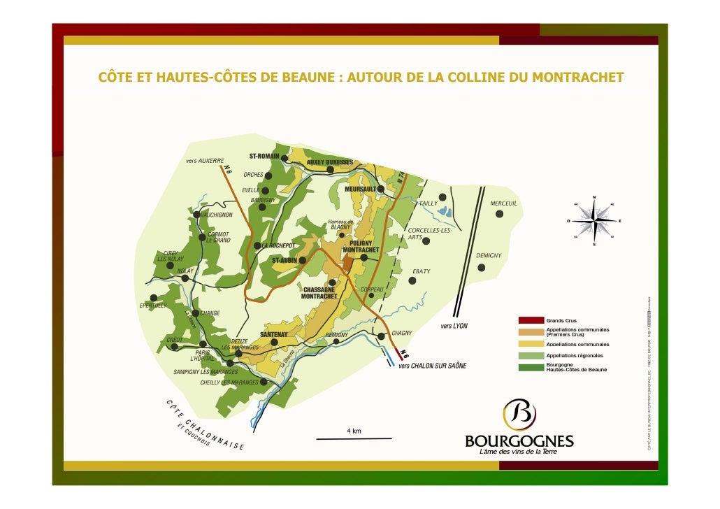 Label « Vignobles et découvertes »         en Bourgogne           Nombre de prestataires labellisés  -        Colline de C...
