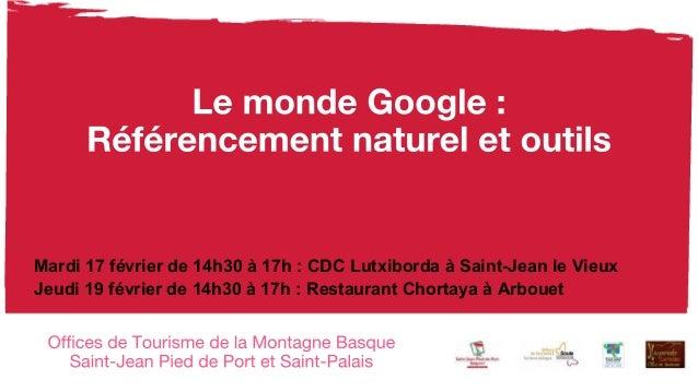 Mardi 17 février de 14h30 à 17h : CDC Lutxiborda à Saint-Jean le Vieux Jeudi 19 février de 14h30 à 17h : Restaurant Chorta...