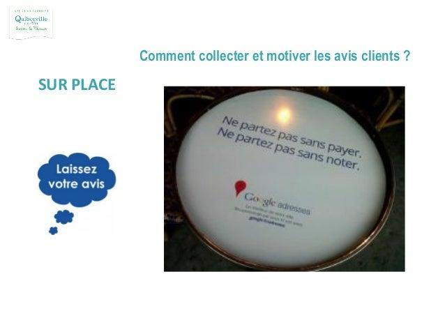 Comment collecter et motiver les avis clients ? LA DIFFUSION D'UN QR CODE Exemple sur la carte de visite d'un restaurateur...
