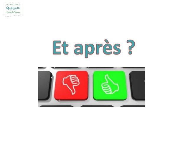 On surveille sa E-réputation www.google.fr/alerts Autres sites : Alerti, Mention (service de base gratuit et versions paya...