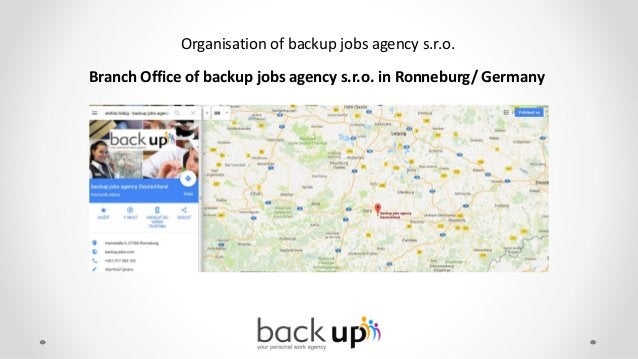 backup jobs agency is fully MLC certified Certificate for private seafarer placement services in accordance with §26 of th...