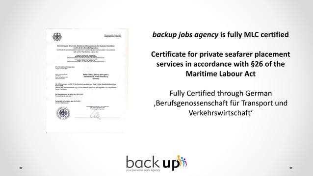 Main Business Partner of backup jobs agency s.r.o.