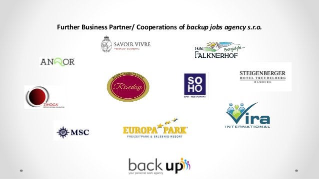 References from our business partners: backup jobs plays an essential role in recruiting and attracting new talent for Vik...