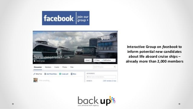Further Presentation at numerous social Networks