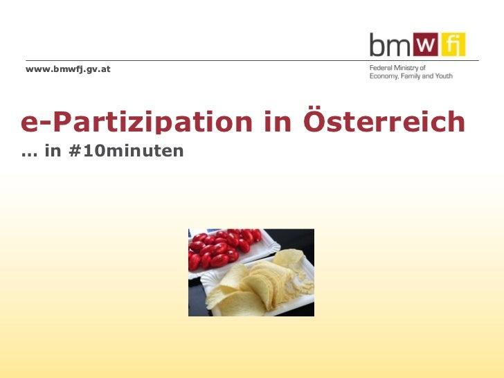 www.bmwfj.gv.ate-Partizipation in Österreich… in #10minuten