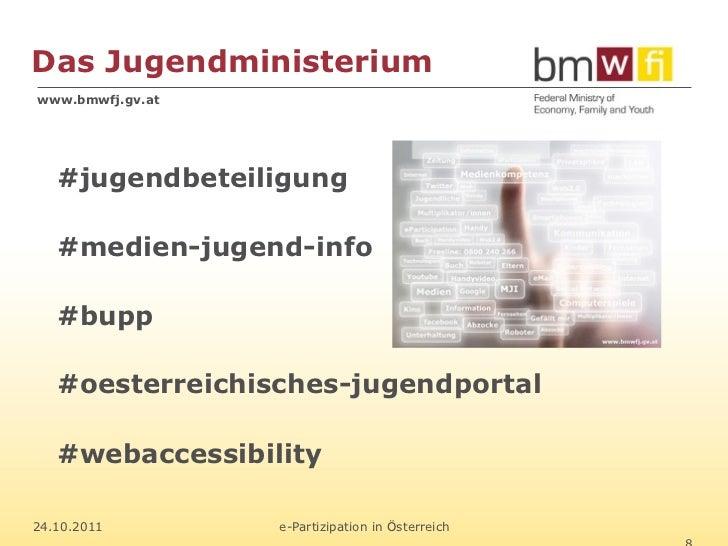 Das Jugendministeriumwww.bmwfj.gv.at   #jugendbeteiligung   #medien-jugend-info   #bupp   #oesterreichisches-jugendportal ...