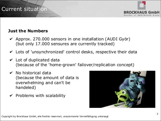 Big Data in Production Environments Slide 3