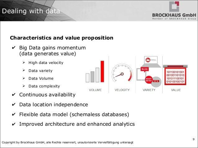 Copyright by Brockhaus GmbH, alle Rechte reserviert, unautorisierte Vervielfältigung untersagt 9 Dealing with data Charact...