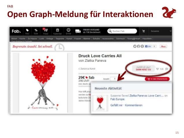 FABOpen Graph-Meldung für Interaktionen                                       15