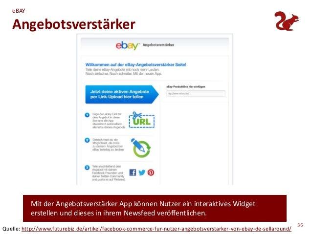 eBAY   Angebotsverstärker          Mit der Angebotsverstärker App können Nutzer ein interaktives Widget          erstellen...