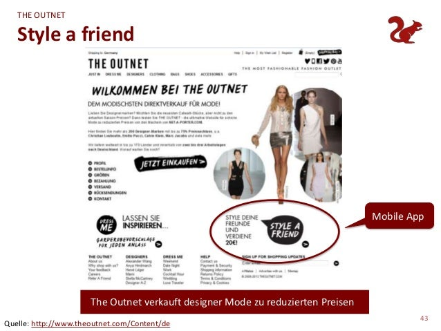 THE OUTNET   Style a friend                                                                                 Mobile App    ...