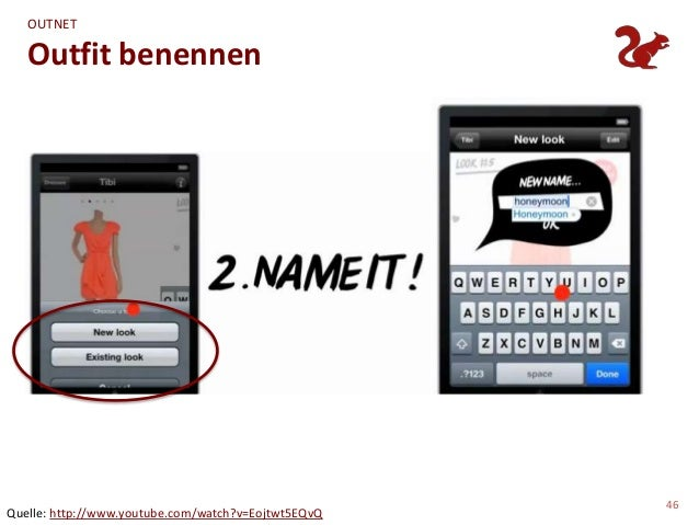 OUTNET   Outfit benennen                                                     46Quelle: http://www.youtube.com/watch?v=Eojt...