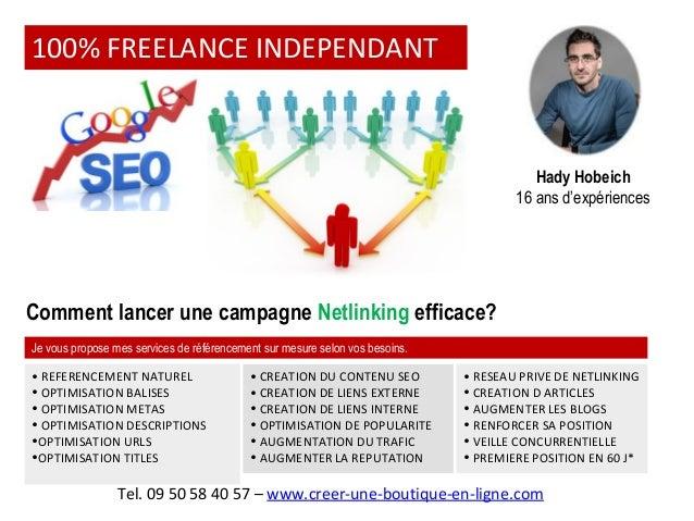Comment lancer une campagne de Netlinking éfficace? Slide 2