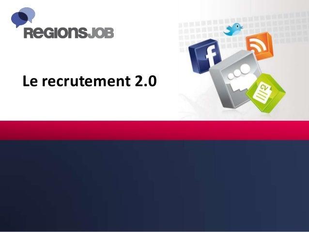 Le recrutement 2.0