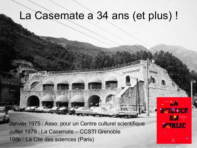 La Casemate, petite fabrique de curiosités ! Slide 2