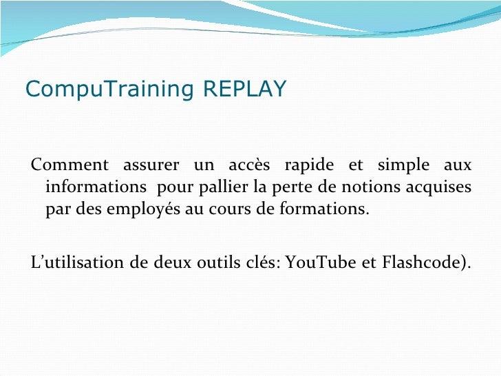 Présentation cas flashcode   Slide 2