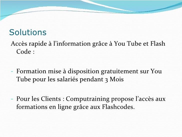 Présentation cas flashcode   Slide 3