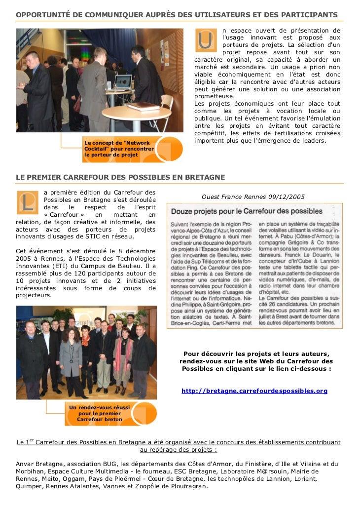 Présentation Carrefour des Possibles Slide 3