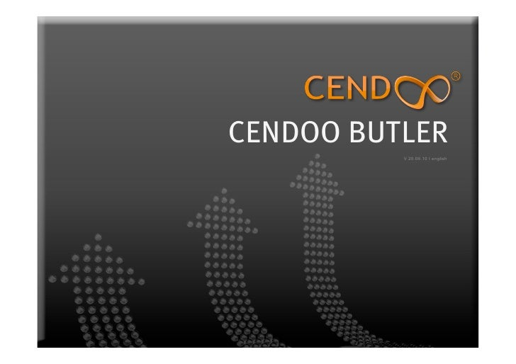 CENDOO BUTLER           V 20.06.10 I english