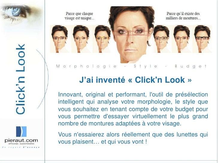 J'ai inventé «Click'n Look»<br />Innovant, original et performant, l'outil de présélection intelligent qui analyse votre...