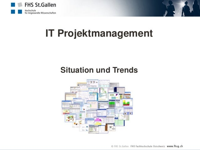 IT Projektmanagement Situation und Trends