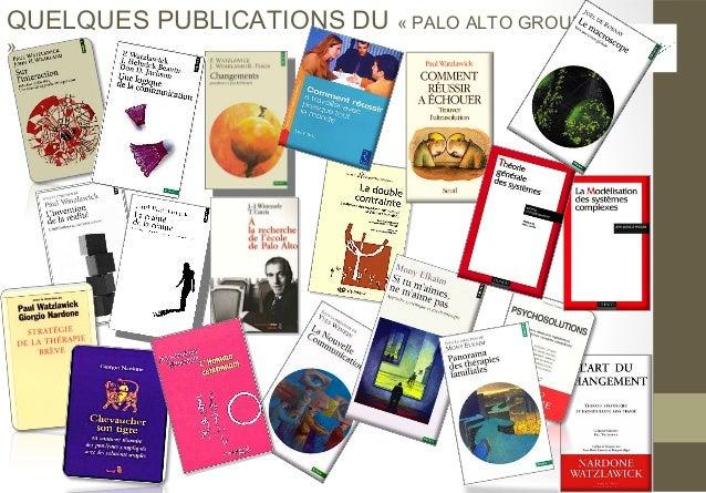 QUELQUES PUBLICATIONS DU « PALO ALTO GROUP»