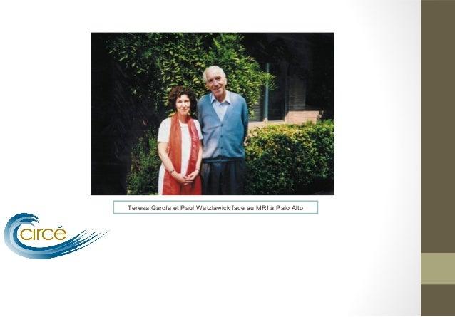 Teresa García et Paul Watzlawick face au MRI à Palo Alto