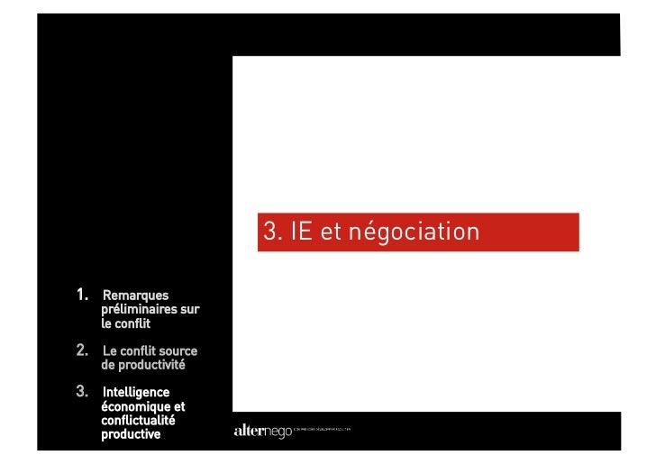 Les outils de l'IE au service de la négociation (1)                        1)   La cartographie d'acteurs permettant d'av...
