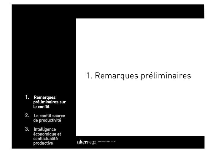 1- Le conflit, chiffres clés                        - Les RPS, deuxième pathologies professionnelles en                  ...