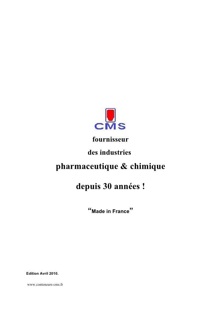 fournisseur                            des industries                  pharmaceutique & chimique                          ...